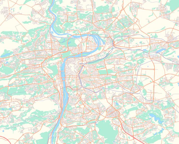 Фото №1 - Тест: Угадай город по фрагменту карты