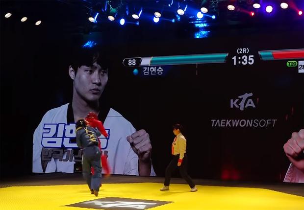 Фото №1 - В турниры по тхэквондо добавили интерфейс из файтингов, чтобы сделать их более зрелищными (видео)