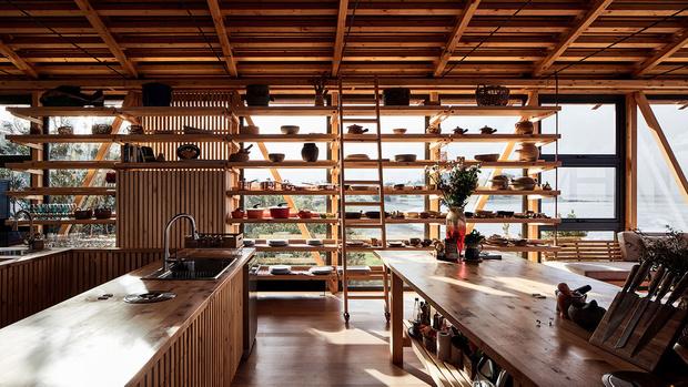 Фото №5 - Красный дом для барбекю в Чили