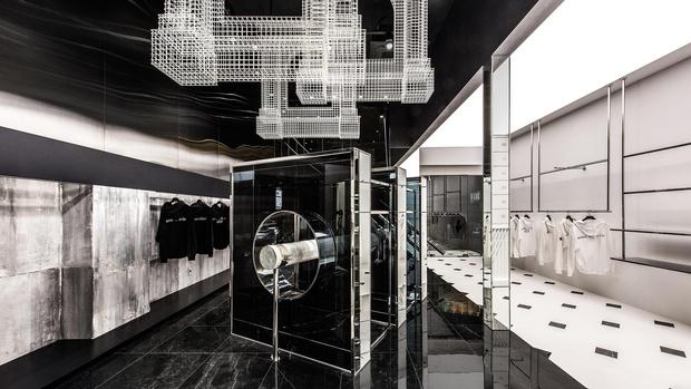 Фото №1 - Монохромный бутик ADLV в Сеуле