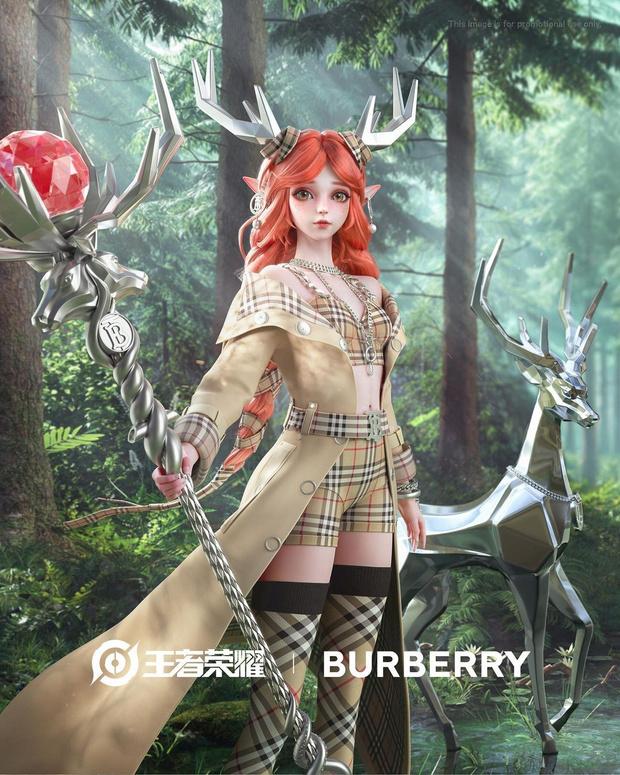 Фото №1 - Burberry переоденут персонажей компьютерной игры Honor of Kings