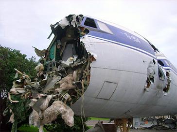 Ту-154, крушение, самолет