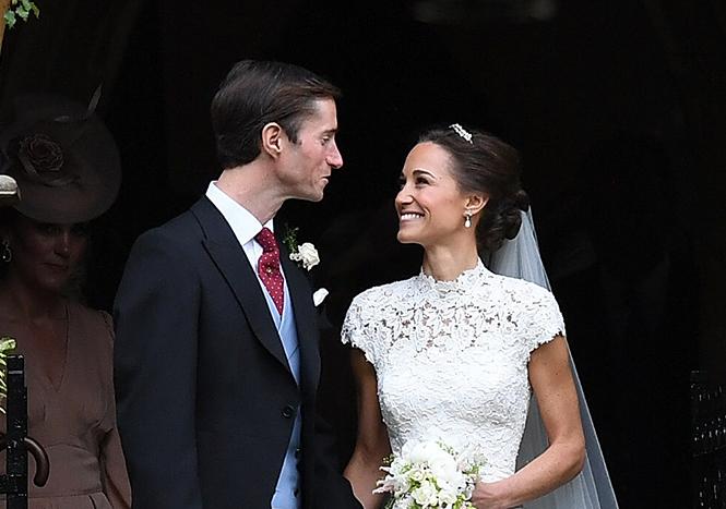 Фото №35 - Свадьба Пиппы Миддлтон