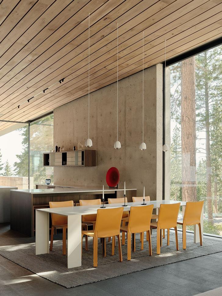 Фото №7 - Модернистский дом на горнолыжном курорте в Калифорнии