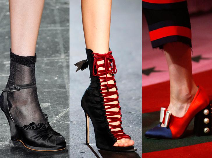Фото №1 - Самая модная обувь сезона весна-лето 2017: детали и фактура