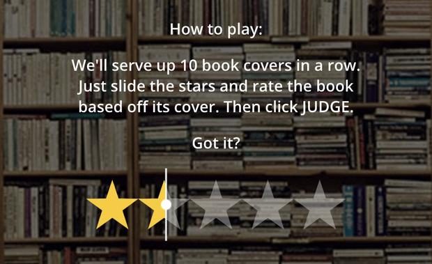 Фото №1 - Сайт дня: учимся судить книги по обложке