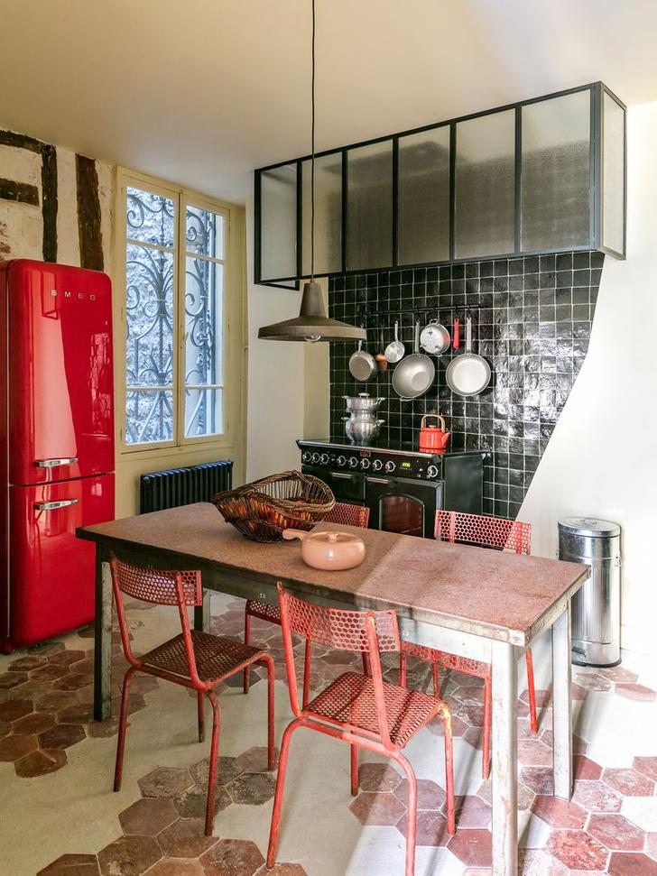 Фото №12 - Тренды 2020: кухня в винтажном стиле