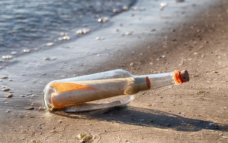 Фото №1 - В Германии обнаружено самое старое послание в бутылке