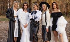 Белла Потемкина устроила модный показ новой коллекции в осеннем лесу