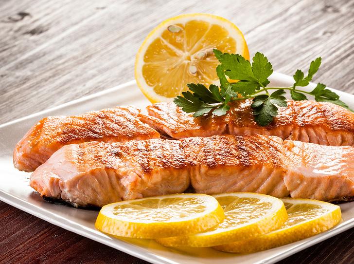 Фото №1 - Рецепт недели: лосось с лимоном на гриле