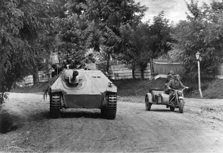 Фото №5 - Маленький гигант большого фронта. История немецкой самоходки «Хетцер»