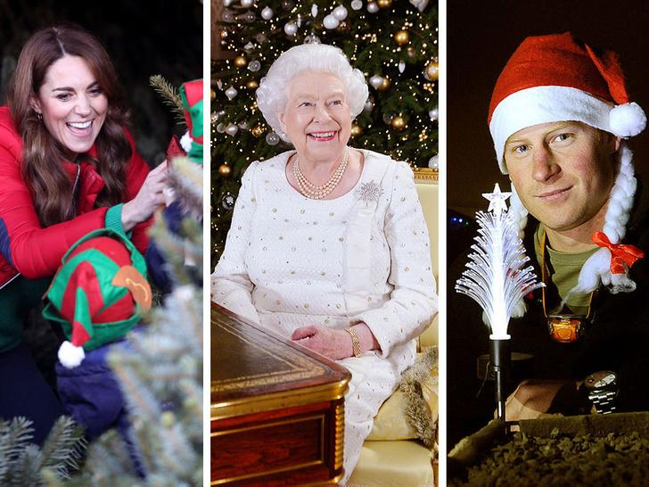 Фото №1 - Самые смешные (и странные) рождественские подарки Виндзоров