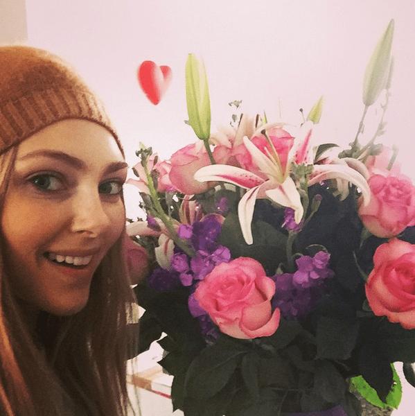Фото №1 - Звездный Instagram: Знаменитости и цветы