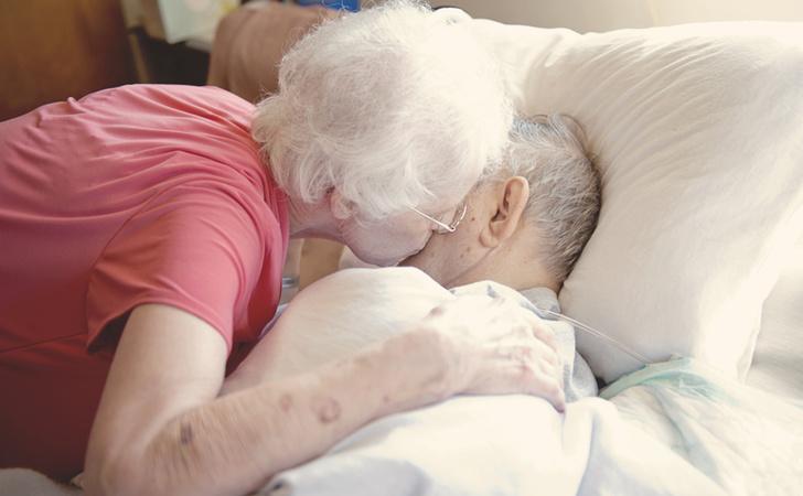 бабушка дедушка любовь