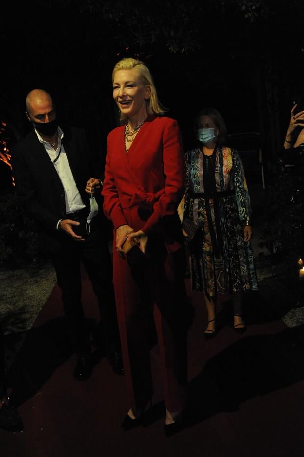 Фото №7 - Нарушая запреты: все образы Кейт Бланшетт на Венецианском кинофестивале
