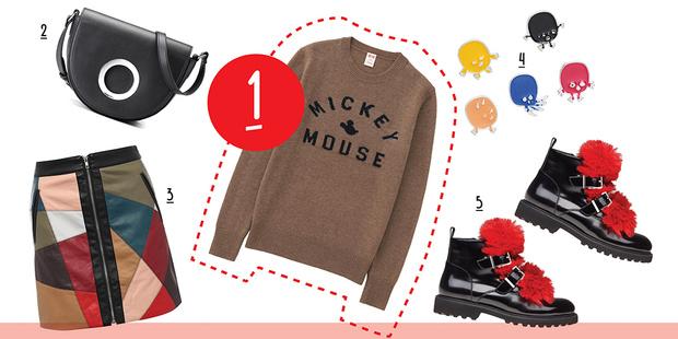 Фото №5 - С чем носить вязаный пуловер