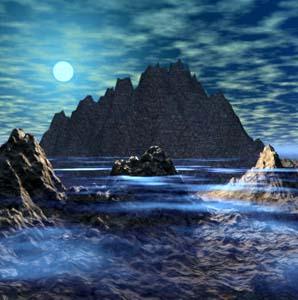 Фото №1 - Приливы и отливы колеблют Землю