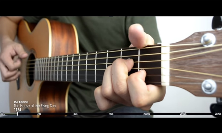 Фото №1 - Эволюция гитарных вступлений в роке (видео)