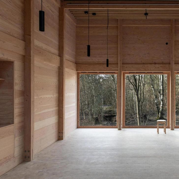 Фото №4 - Деревянная школа в датском лесу