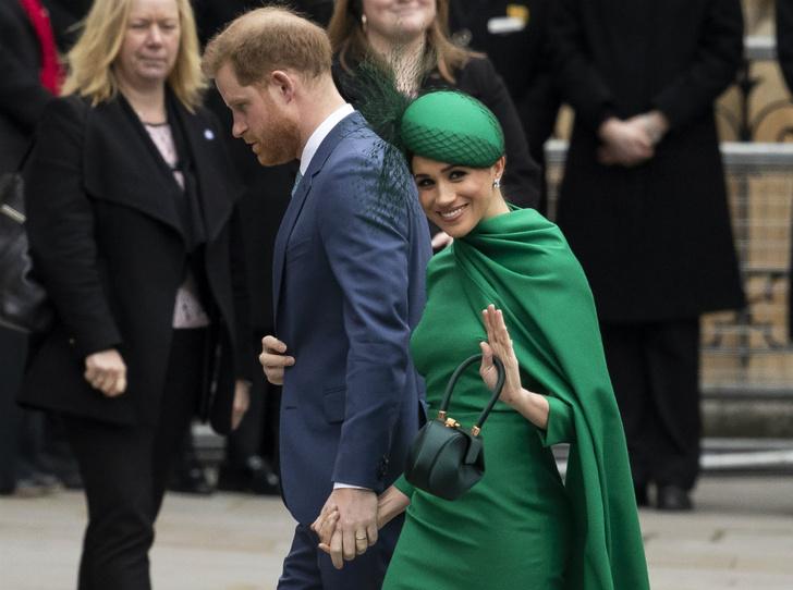 Фото №1 - На разной волне: о чем говорит язык тела Гарри и Меган во время их последних выходов