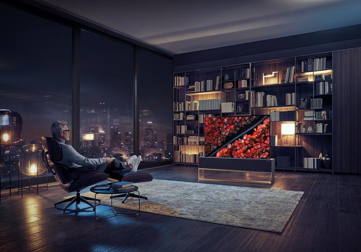 Фото №2 - Новое видение: гибкий телевизор LG Signature