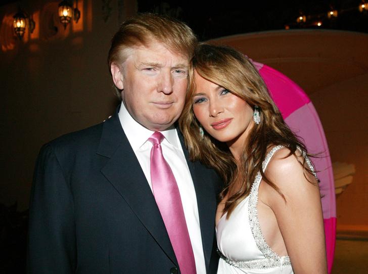 Фото №1 - Неочевидная причина, почему Мелания вышла замуж за Дональда Трампа