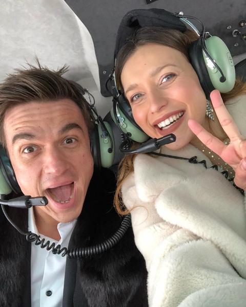 <p>Регина Тодоренко и Влад Топалов</p>