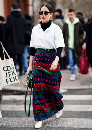 Фото №4 - С чем носить юбки макси: 7 универсальных сочетаний на любой случай
