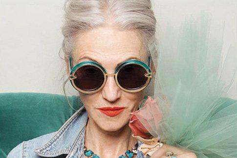 Фото №1 - 60+ модные старушки в рекламе очков