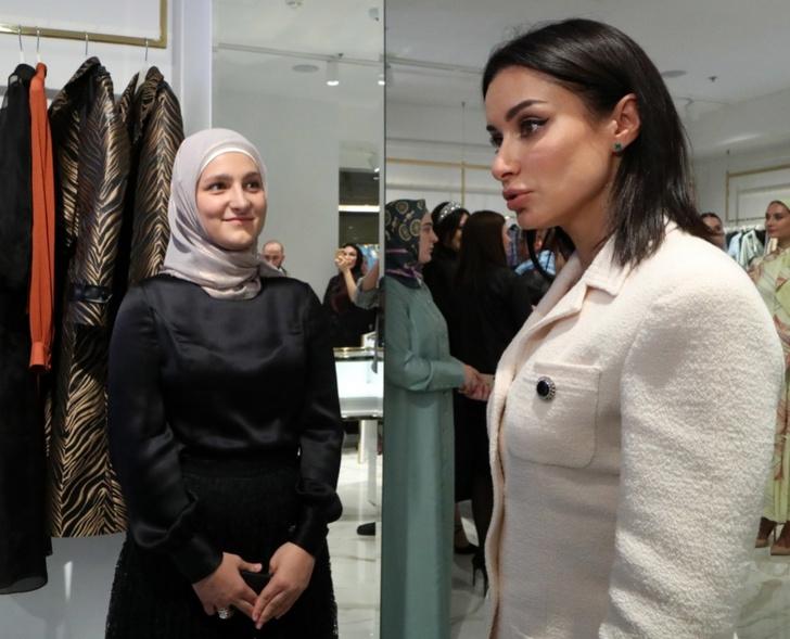 Фото №2 - Тимати, Ольга Бузова и другие звезды на открытии бутика дочери Рамзана Кадырова в Москве