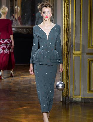 Фото №11 - Неделя Высокой моды в Париже: Ulyana Sergeenko Couture F2015