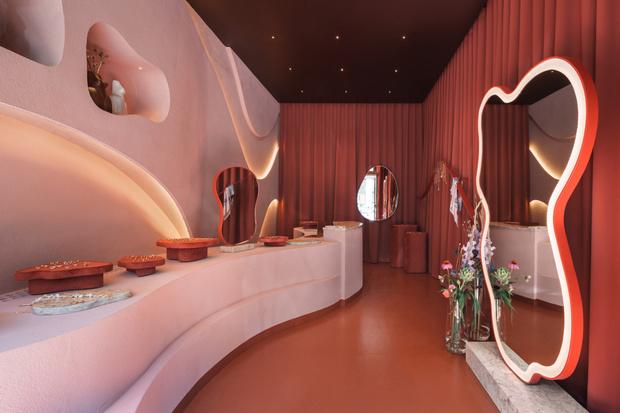 Фото №5 - Бутик ювелирных украшений в Варшаве, вдохновленный Марокко