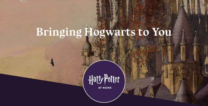 Фото №1 - Джоан Роулинг запустила сайт «Гарри Поттер дома»