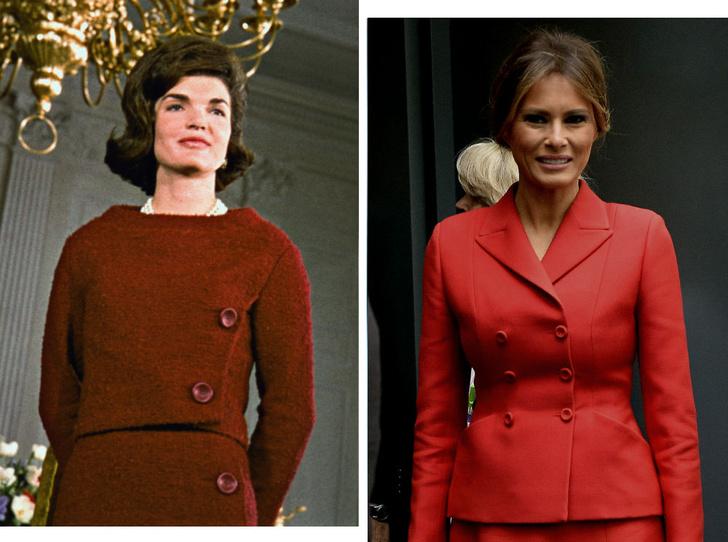Фото №1 - Копия не верна: почему Мелании Трамп так и не удалось стать второй Жаклин Кеннеди