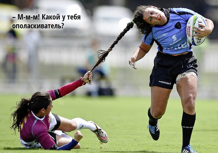 Фото №1 - 10 забавных спортивных фотографий с историями
