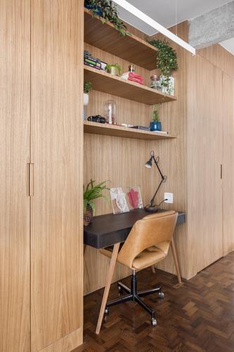 Фото №6 - Квартира с зеленой перегородкой в Сан-Паулу