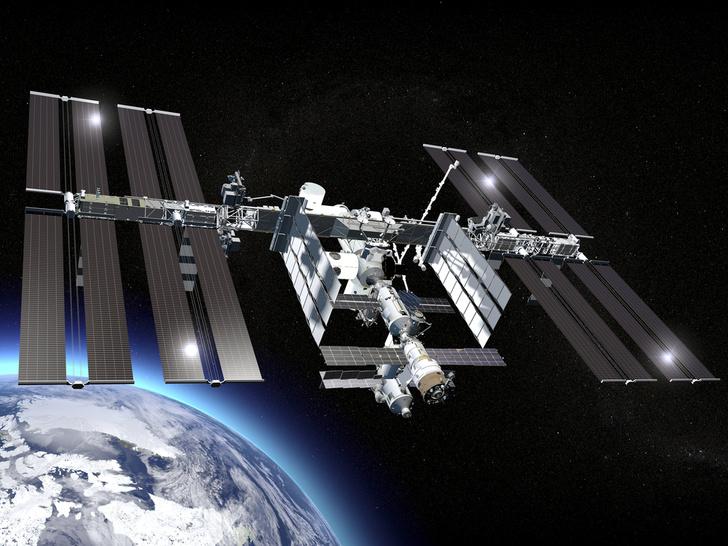 Фото №1 - Откуда космонавты берут воздух?