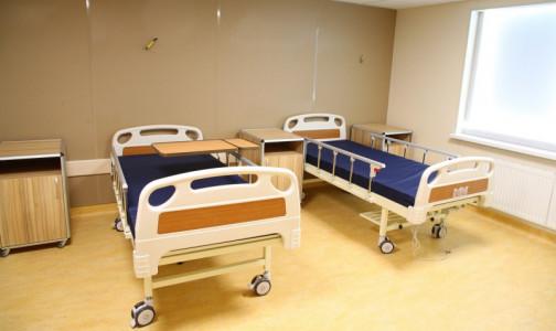 Фото №1 - В Госпитале для ветеранов войн открылся инфекционный стационар-трансформер для пациентов с COVID-19