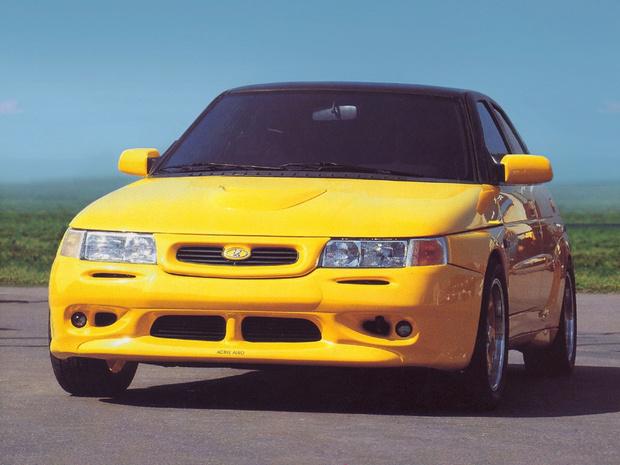 Фото №1 - «Желтая акула»— самая классная Lada 90-х