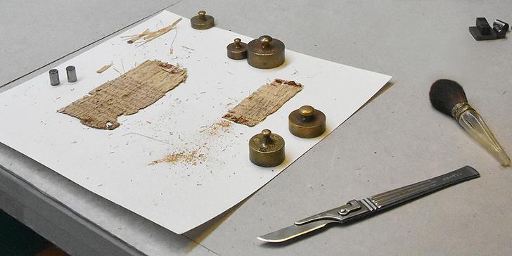 Фото №1 - Раскрыта тайна базельского папируса