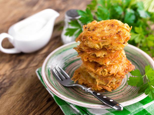 Фото №1 - Рецепты осени: драники из кабачков
