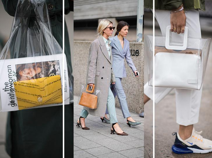 Фото №1 - 10 лучших прозрачных сумок сезона (и как их носить)