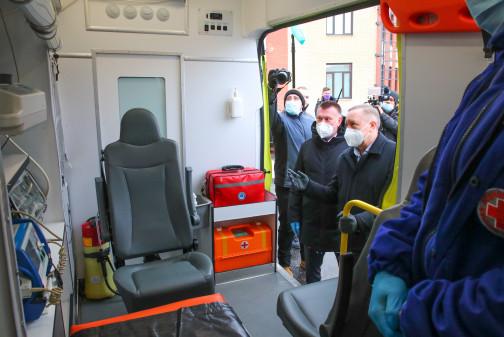 Станция скорой помощи в Пушкине получит дополнительно пять автомобилей