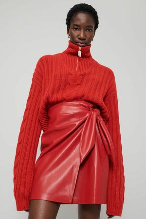 Фото №5 - Lady in red: Nanushka представили коллекцию в честь Китайского Нового года
