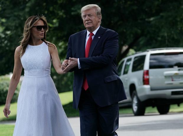 Фото №5 - Как выглядеть стройнее на фото: лайфхаки Мелании Трамп