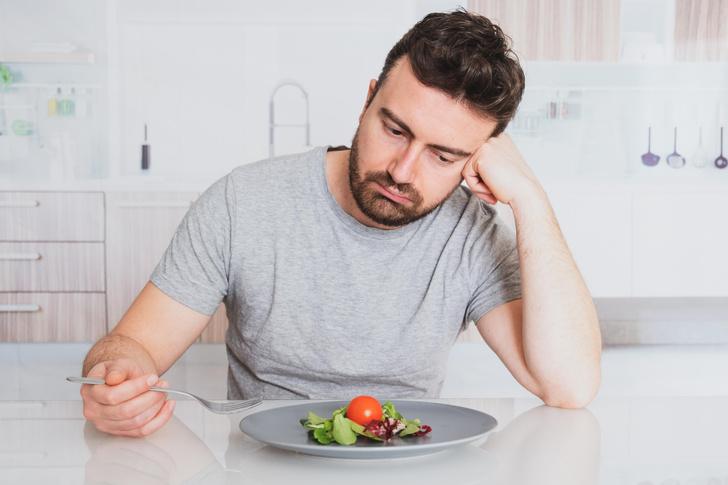 Фото №1 - В постели с диетой: как сохранить рассудок, поддерживая худеющего мужчину