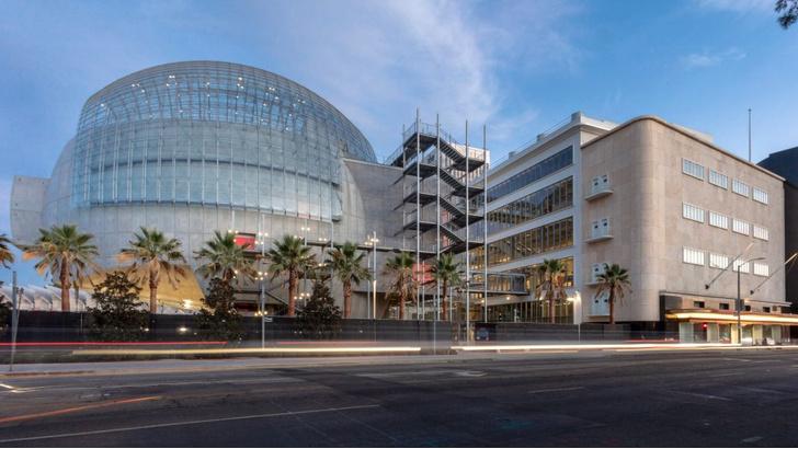 Фото №1 - В Лос-Анджелесе открылся Музей Академии киноискусств по проекту Ренцо Пиано