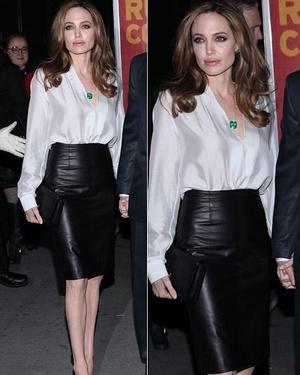 Фото №6 - 5 образов Анджелины Джоли, которые всегда будут в моде