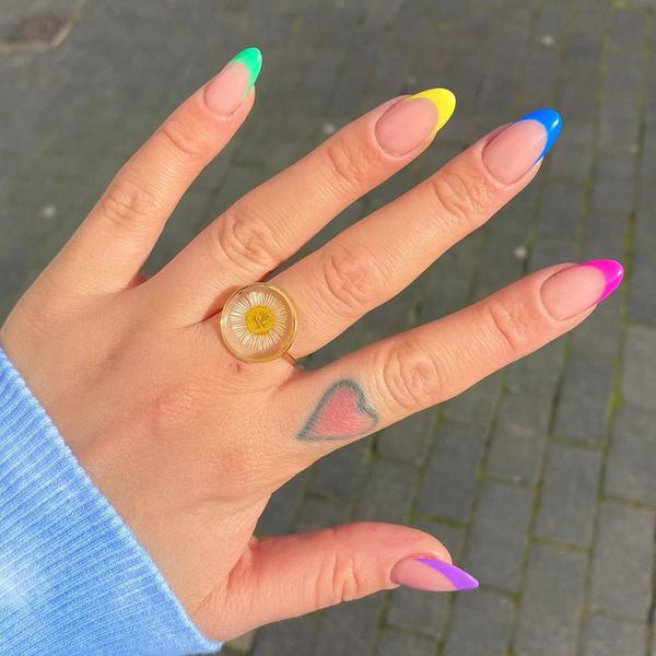 Фото №7 - С каким цветом ногти кажутся длиннее: 10 самых модных маникюров