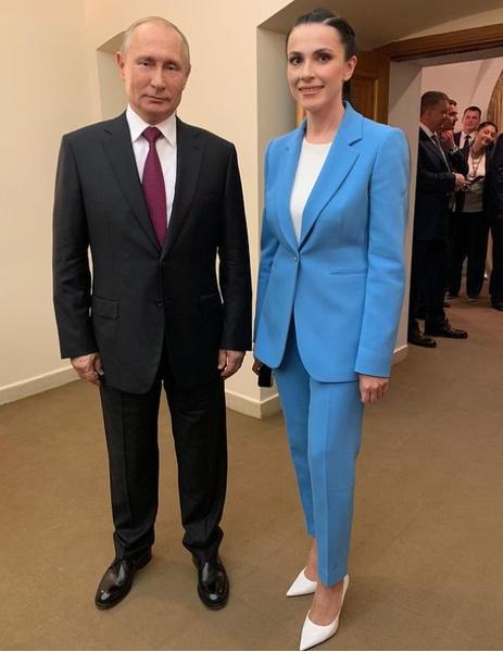 Владимир Путин и Наиля Аскер-заде